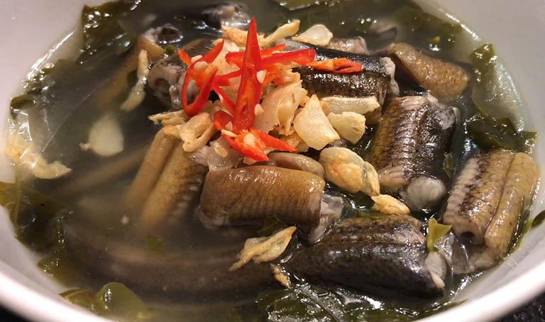 Lươn nấu đảng sâm