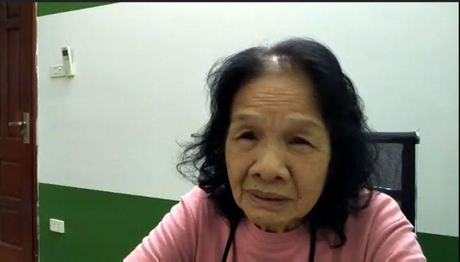 Cô Đoàn Thị Trâm bị căn bệnh trào ngược dạ dày lâu năm