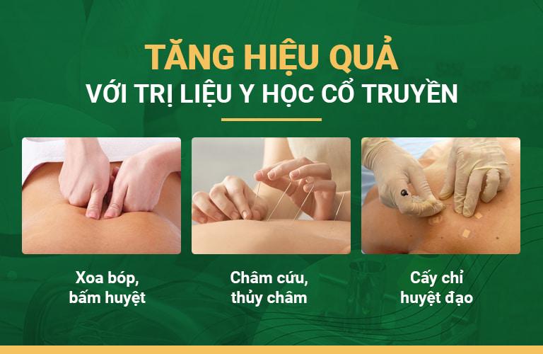Các liệu pháp vật lý trị liệu giúp tăng hiệu quả điều trị