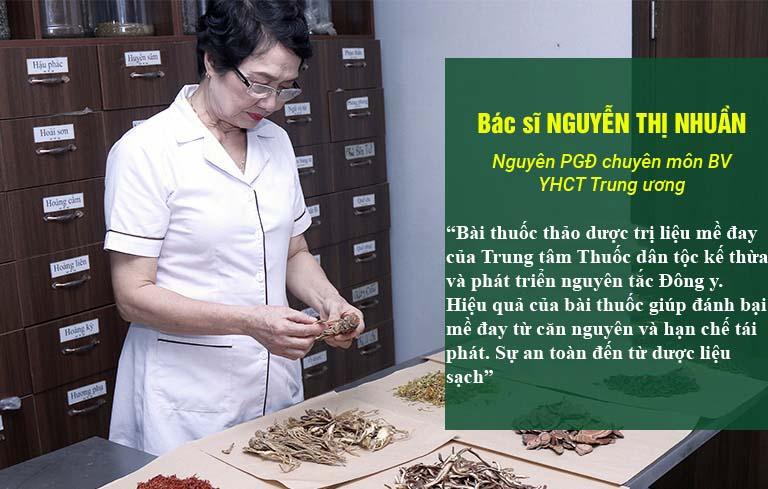 Bác sĩ Nguyễn Thị Nhuần và nhận định về bài thuốc Tiêu ban Giải độc thang