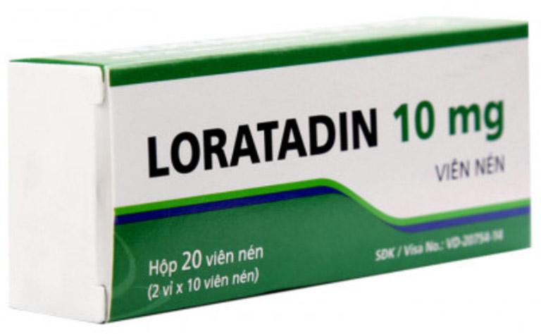 10 thuốc trị nổi mề đay giảm nhanh ngứa ngáy