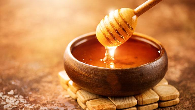 Bị ho nên ăn mật ong
