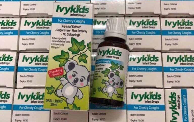 Siro trị ho cho trẻ em Ivy Kids