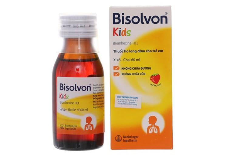 Siro ho Bisolvon Kids