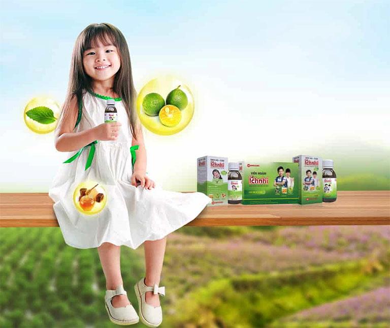 Siro ho cảm Ích Nhi là một sản phẩm của công ty TNHH Nam Dược nghiên cứu và sản xuất