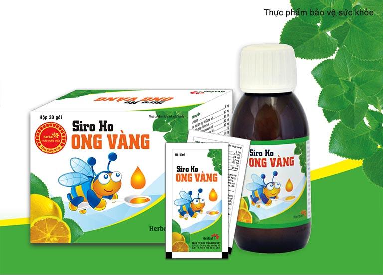 Siro ho Ong Vàng của công ty TNHH Thảo Tiên Dược là một sản phẩm được bào chế dưới dạng hỗn dịch uống với công dụng cải thiện triệu chứng ho