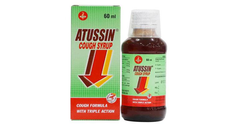 Siro ho Atussin Cough Syrup
