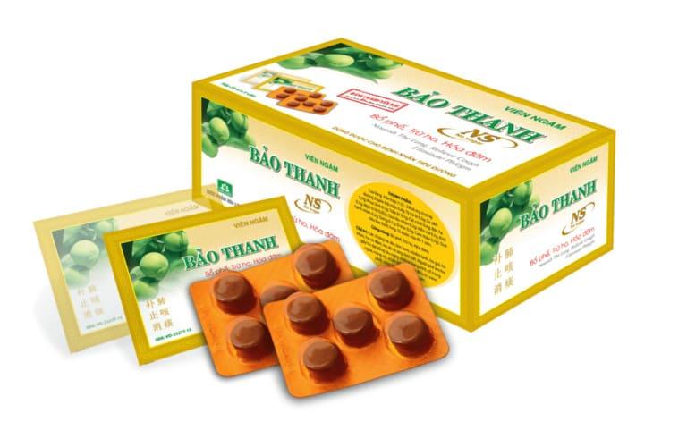 kẹo ngậm trị ho Bảo Thanh