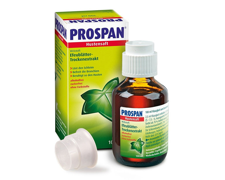 Siro ho Prospan Forte được điều chế từ lá thường xuân nên được đánh giá mức độ an toàn cho bà bầu