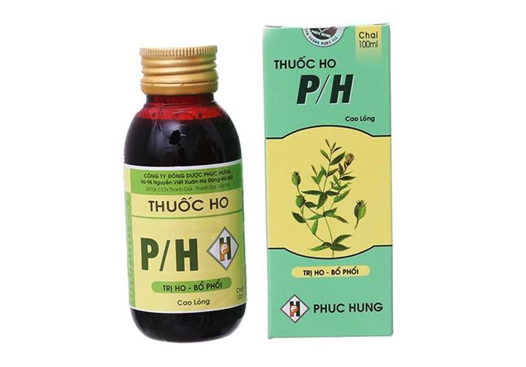 Thuốc ho P/H có được điều chế hoàn toàn từ các thảo dược thiên nhiên lành tính nên được đánh giá cao mức độ an toàn và hiệu quả