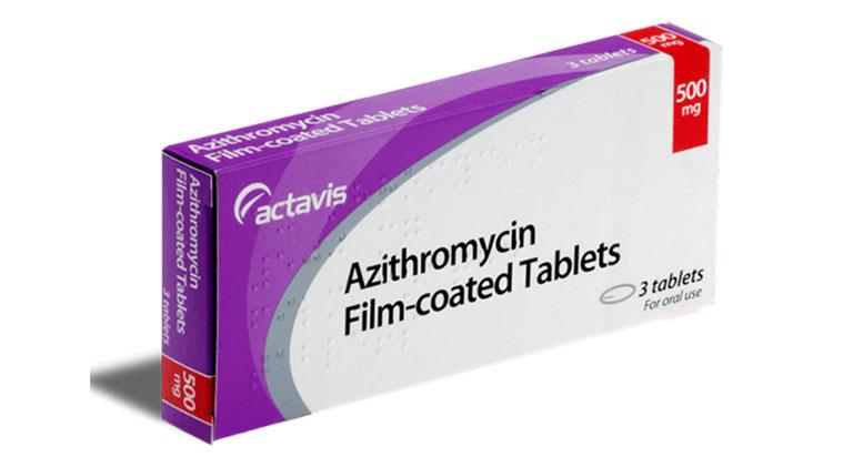 Thuốc kháng sinh trị ho Azithromycin