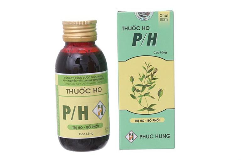 Thuốc điều trị ho khan PH