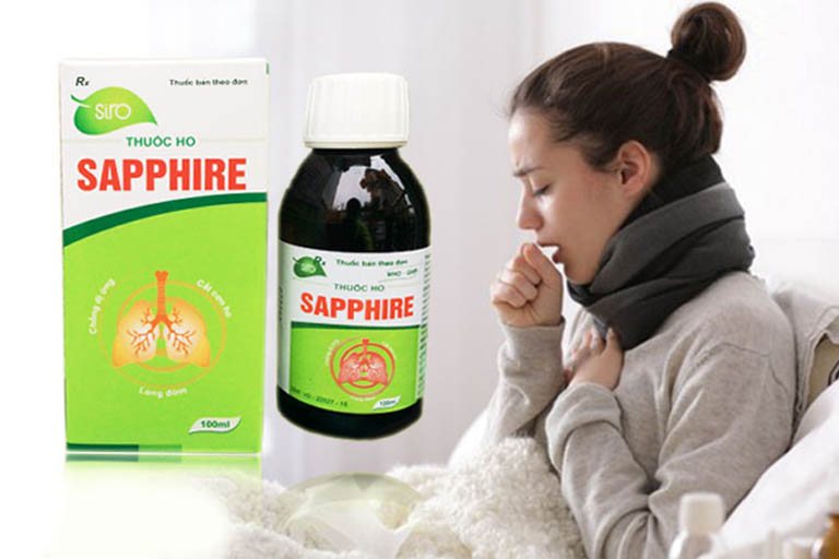 Thuốc chữa ho khan Sapphire