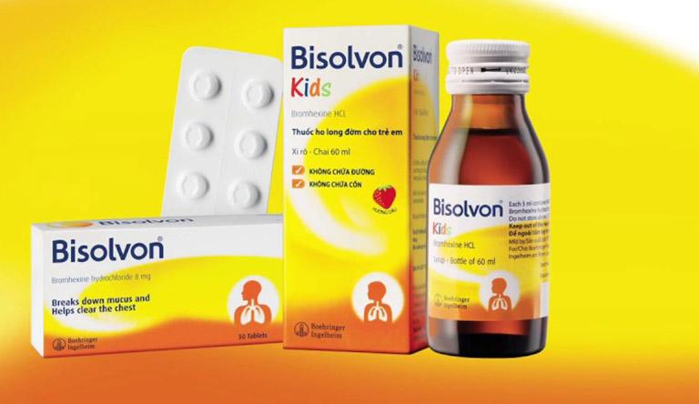 Thuốc trị ho khan Bisolvon