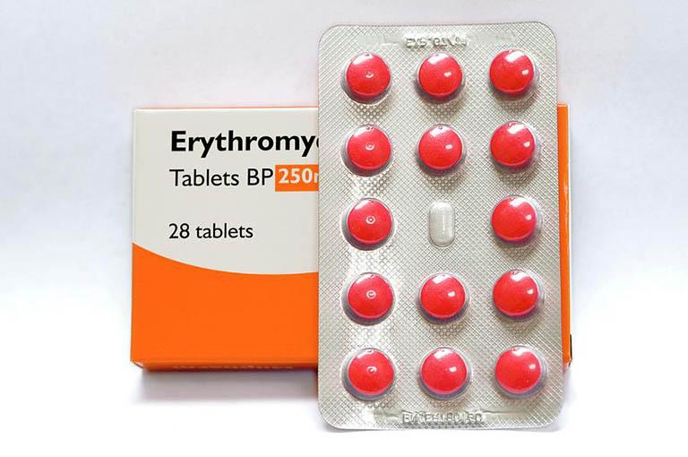 thuốc điều trị viêm xoang Erythromycin