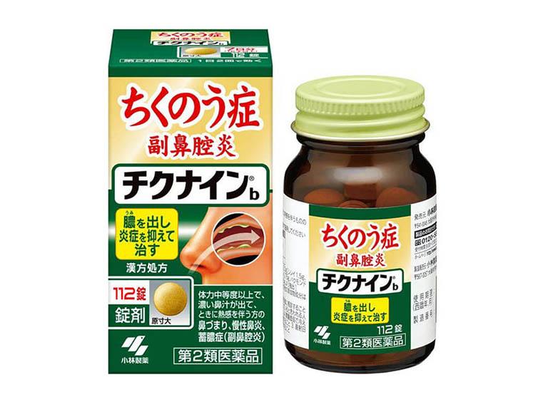 Kobayashi Chikunain của hãng Kobayashi là một trong những thực phẩm chức năng hỗ trợ điều trị bệnh viêm xoang của Nhật Bản được nhiều người tin dùng