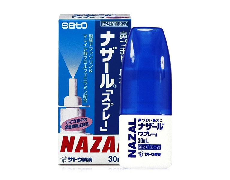 Thuốc xịt mũi Nazal có chứa các thành phần hoạt chất tác động sâu vào hốc xoang mũi, từ đó hỗ trợ làm nhẹ triệu chứng do bệnh viêm xoang gây ra