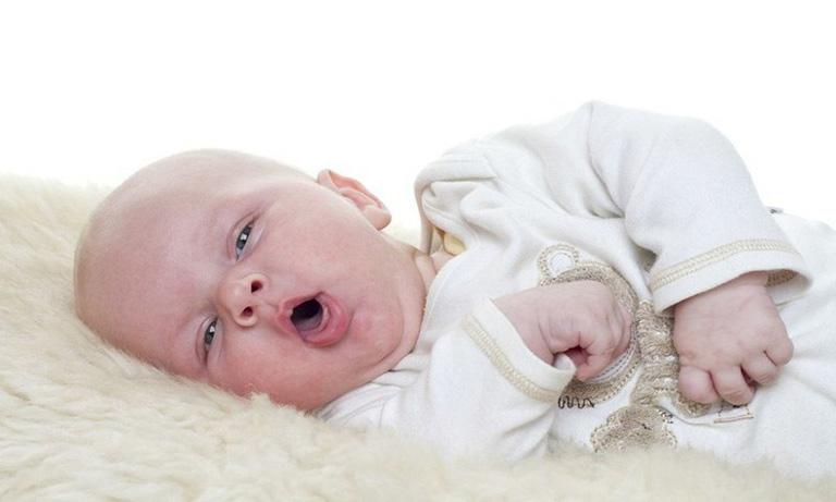 Triệu chứng ho ở trẻ 4, 5, 6 tháng tuổi