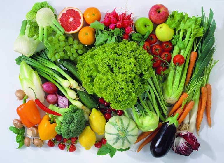 Người bị hội chứng thận hư nên ăn rau quả