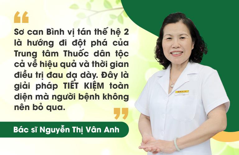 TS.BS Vân Anh - Viện trưởng Viện y dược dân tộc