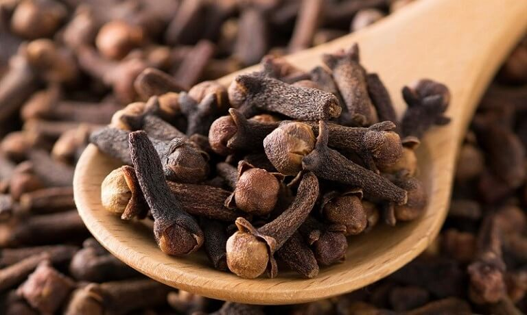 Hợp chất Eugenol trong đinh hương có tác dụng trong việc gây tê