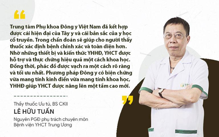 Thầy thuốc Lê Hữu Tuấn nhận xét về phương pháp Đông y có biện chứng