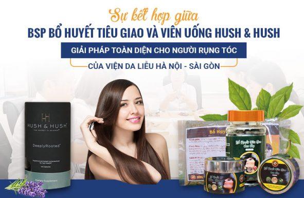 Giải pháp loại bỏ rụng tóc của Viện Da liễu Hà Nội - Sài Gòn