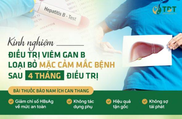 5 năm CHỮA MÃI KHÔNG KHỎI cho đến khi dùng Bảo nam Ích can thang đặc trị viêm gan B