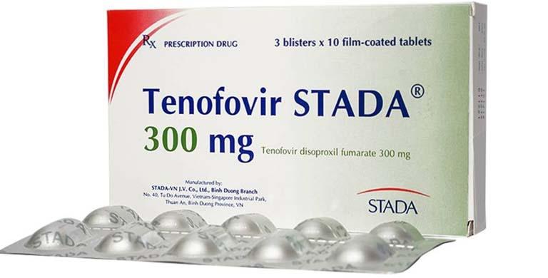 Các thuốc điều trị viêm gan B cho bà bầu Tenofovir