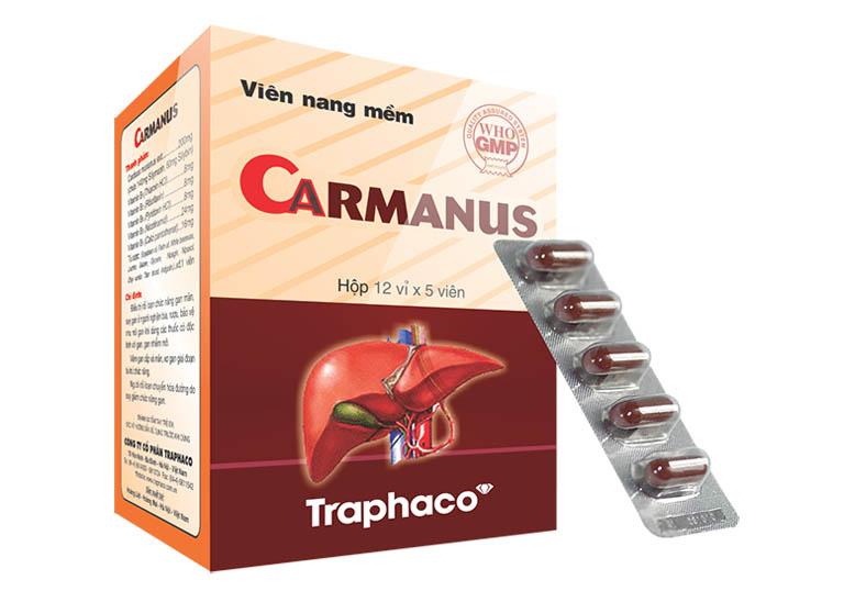 Carmanus Thuốc điều trị gan nhiễm mỡ hiệu quả nhất
