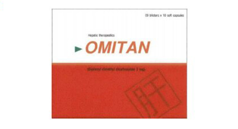Thuốc uống chữa gan nhiễm mỡ Omitan
